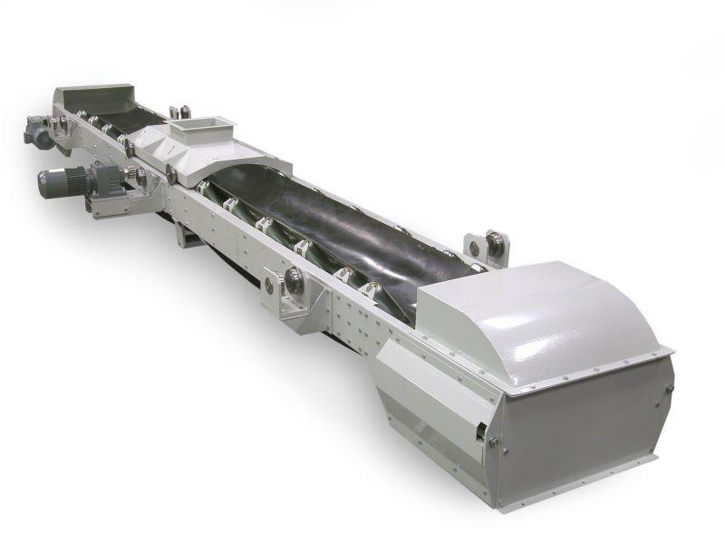 Hot dip galvanized belt conveyors design, hot dip galvanized